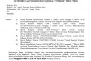 "INFORMASI  KEGIATAN TRIDARMA DAN PENUNJANGNYA DALAM RANGKA KEWASAPADAAN PANDEMI COVID-19 (CORONA VIRUS DISESASE -19) DILINGKUNGAN UPN ""VETERAN"" JAWA TIMUR"