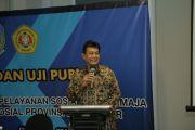 "Seminar Uji Publik  ""Penyusunan Standar Pelayanan Sosial Bina Remaja Pada UPT Dinas Sosial Provinsi Jawa Timur"""